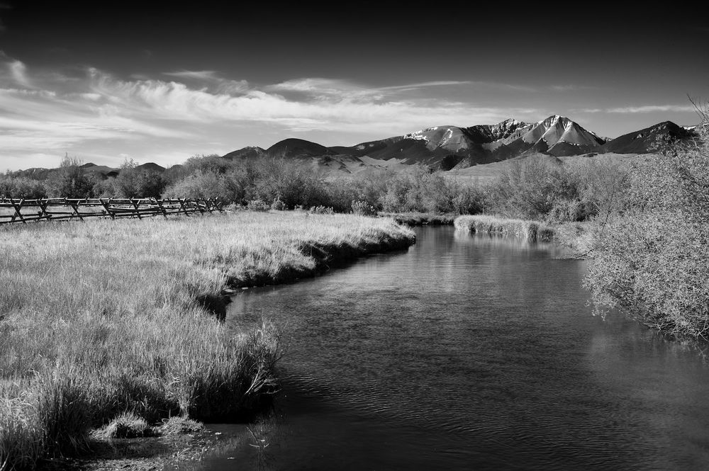 Spring Creek & Lost River Range.