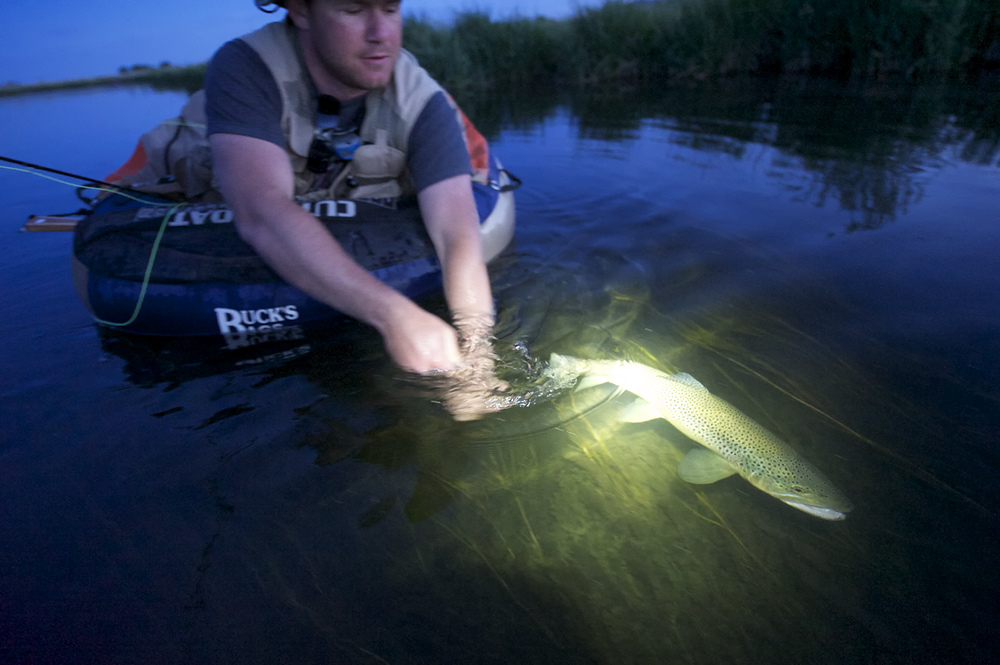 Headlamp Release. Silver Creek, Idaho.