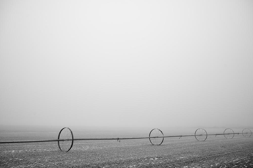 Angle. Wheel Line. Gannet, Idaho.