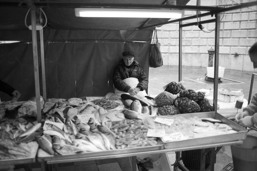 Fish Salesman