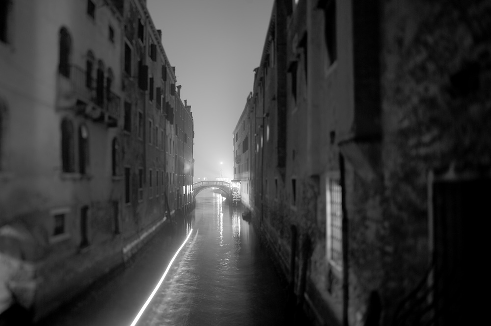 venice canal night long exposure bw.jpg