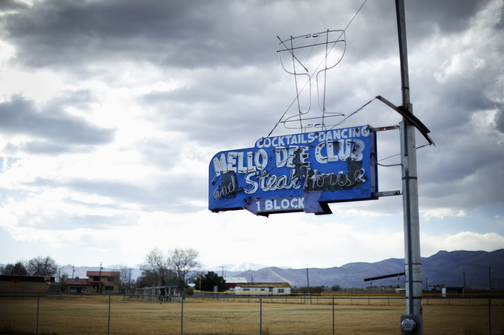 Mello Dee Club. Arco, Idaho.