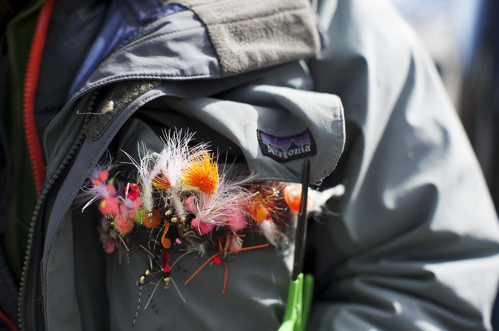 A guide's jacket. Sun Valley, Idaho.