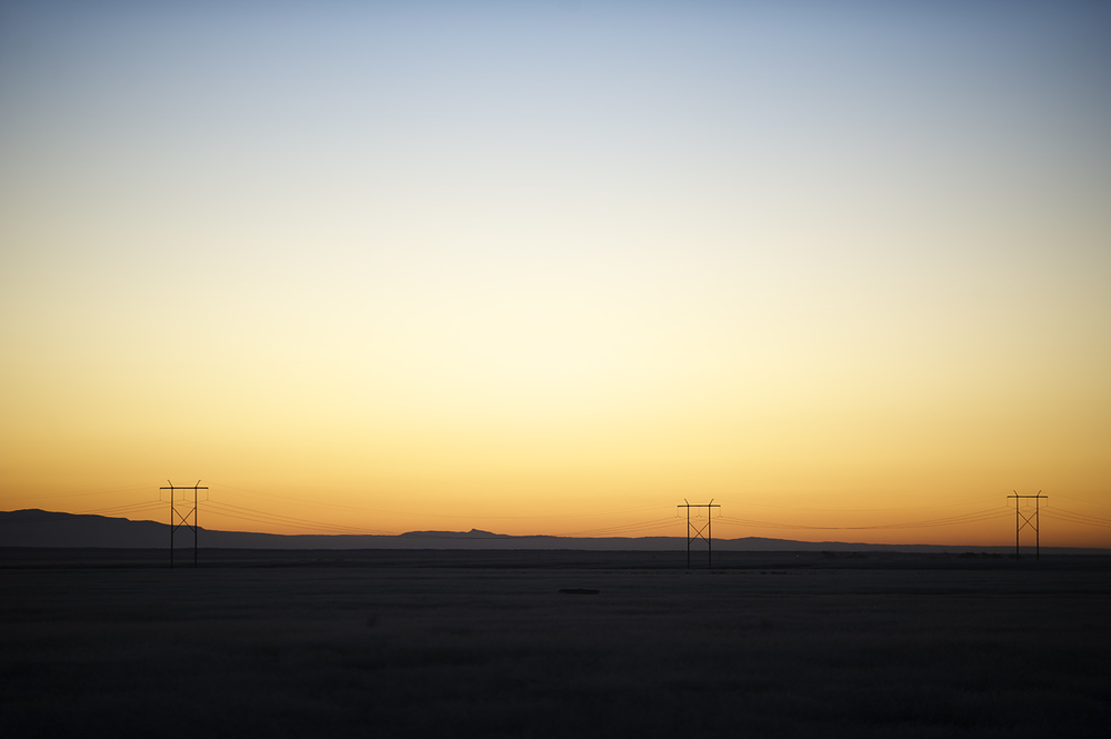 Horizon & Power Lines
