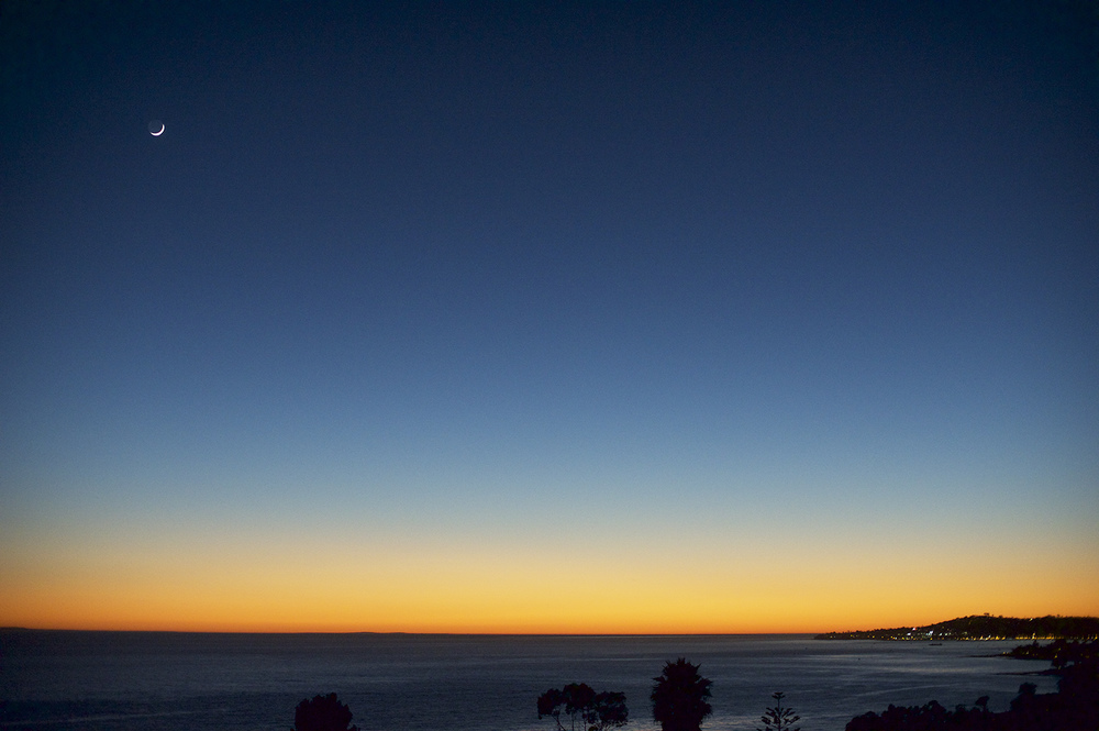 Santa Barbara. After Sunset