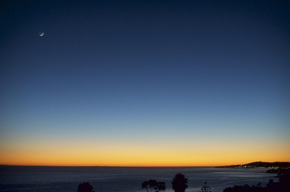 Santa Barbara. After Sunset