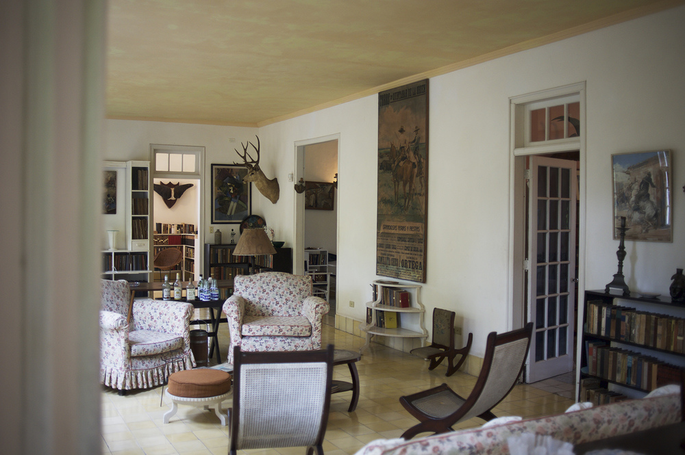 Hemingway's House. Havana, Cuba