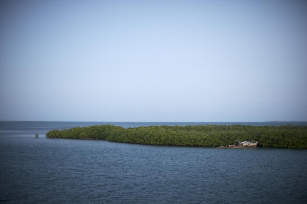 Shipwreck. Jardines de la Reina, Cuba