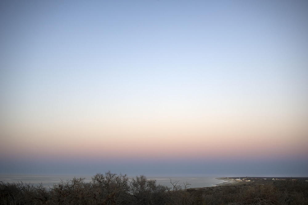 East Cape After Sunset. Baja Sur