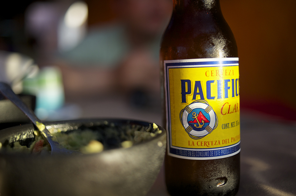 Pacifico & Guacamole