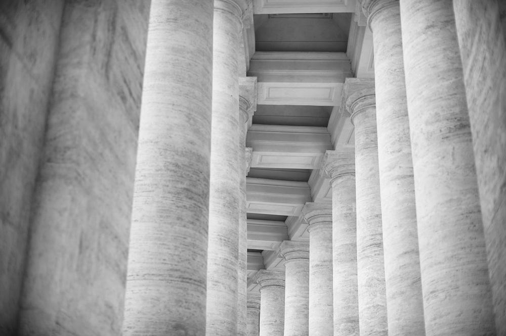 columns landscape st peters bw.jpg