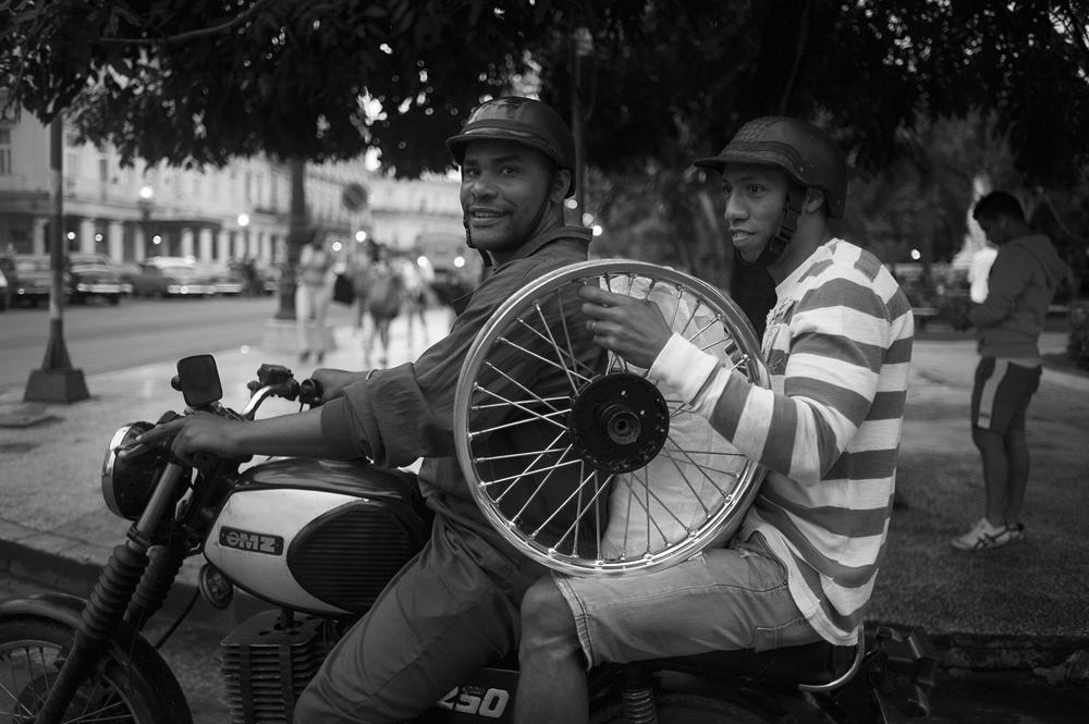 Havana. Parque Central.