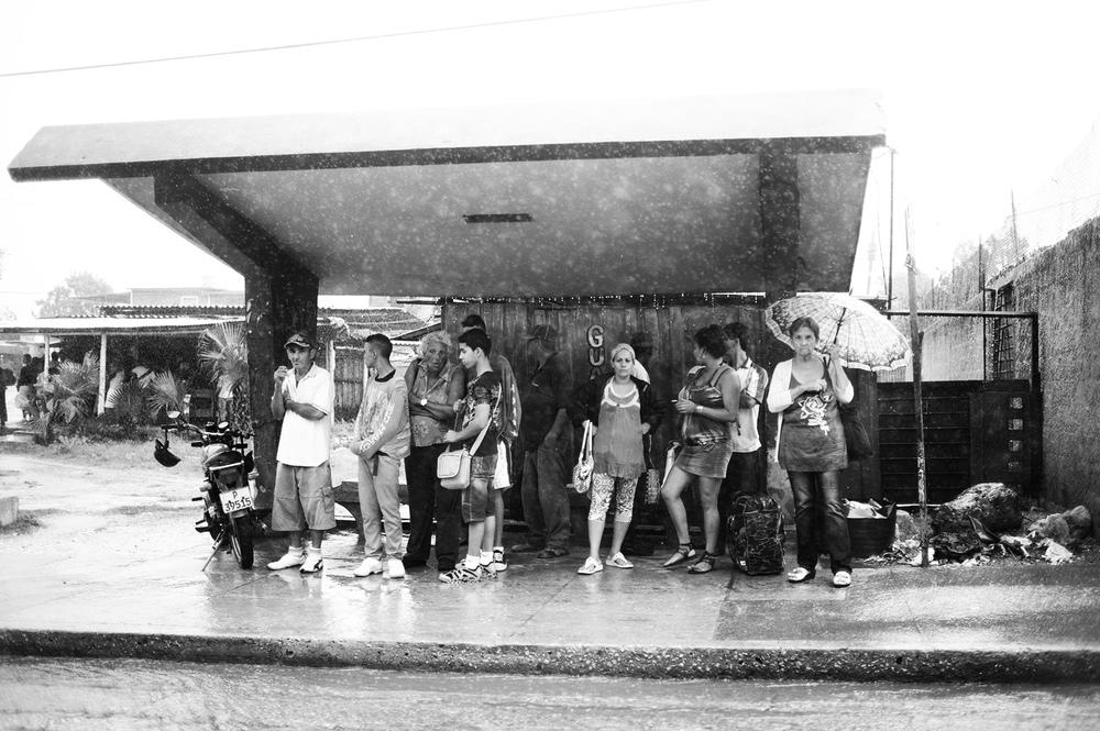 Havana Bus Stop.