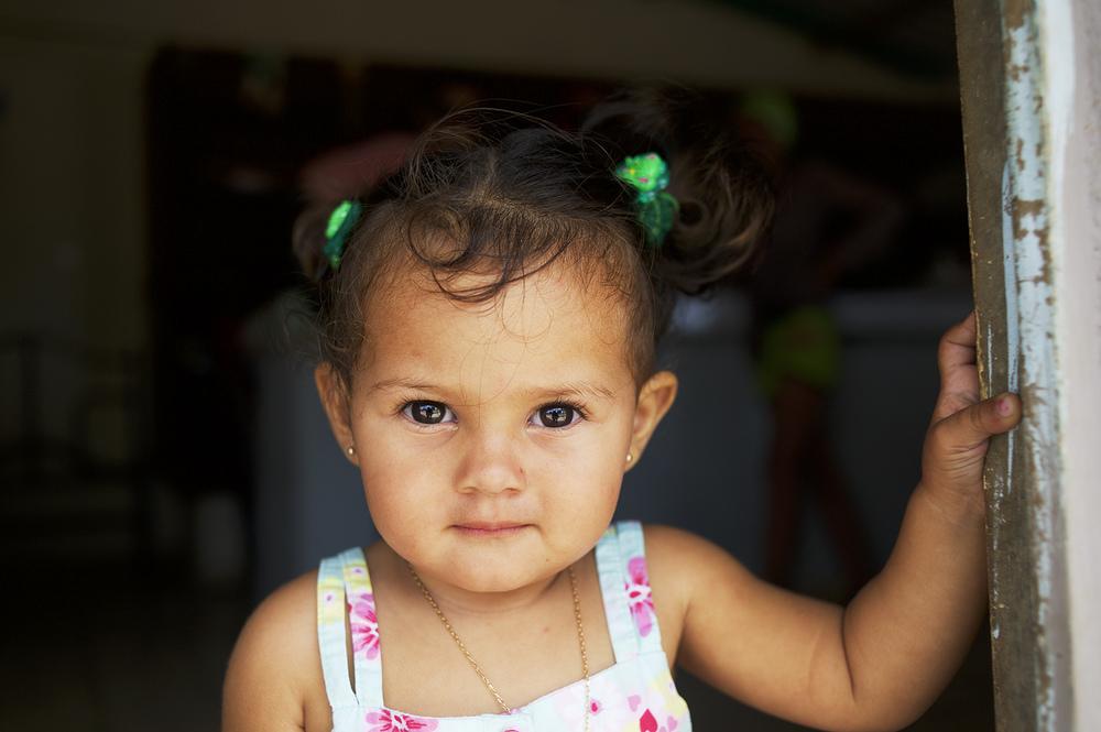 Young girl. Júcaro, Cuba.