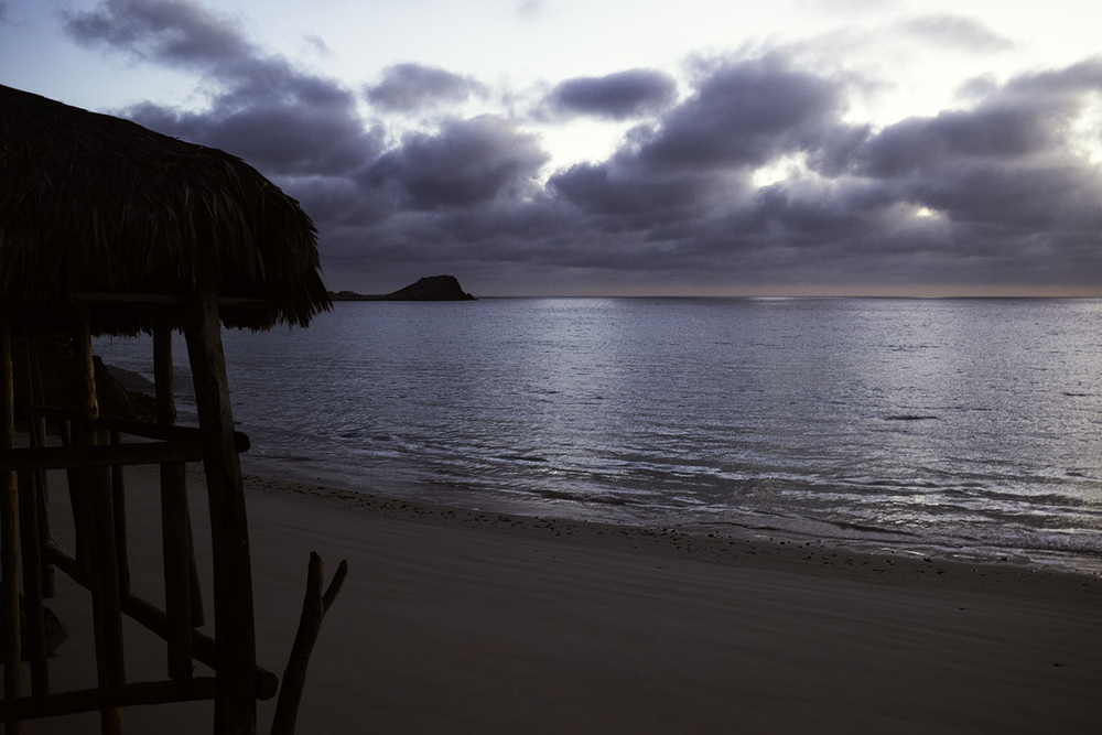 Cabo Pulmo sunrise.