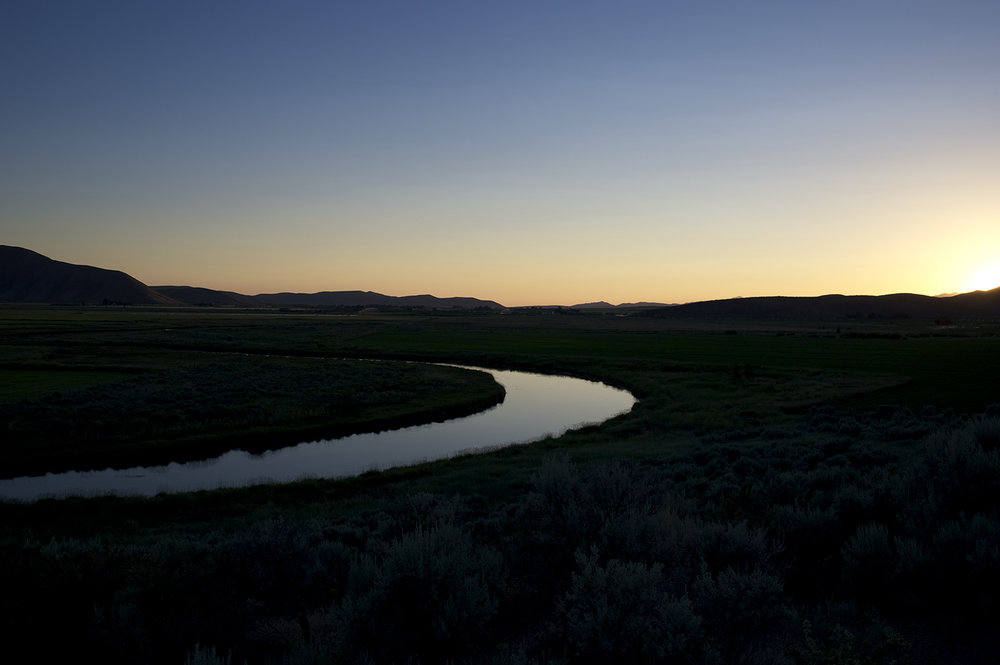 Silver Creek near Picabo, Idaho.