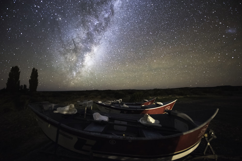 Drift Boats & Milky Way