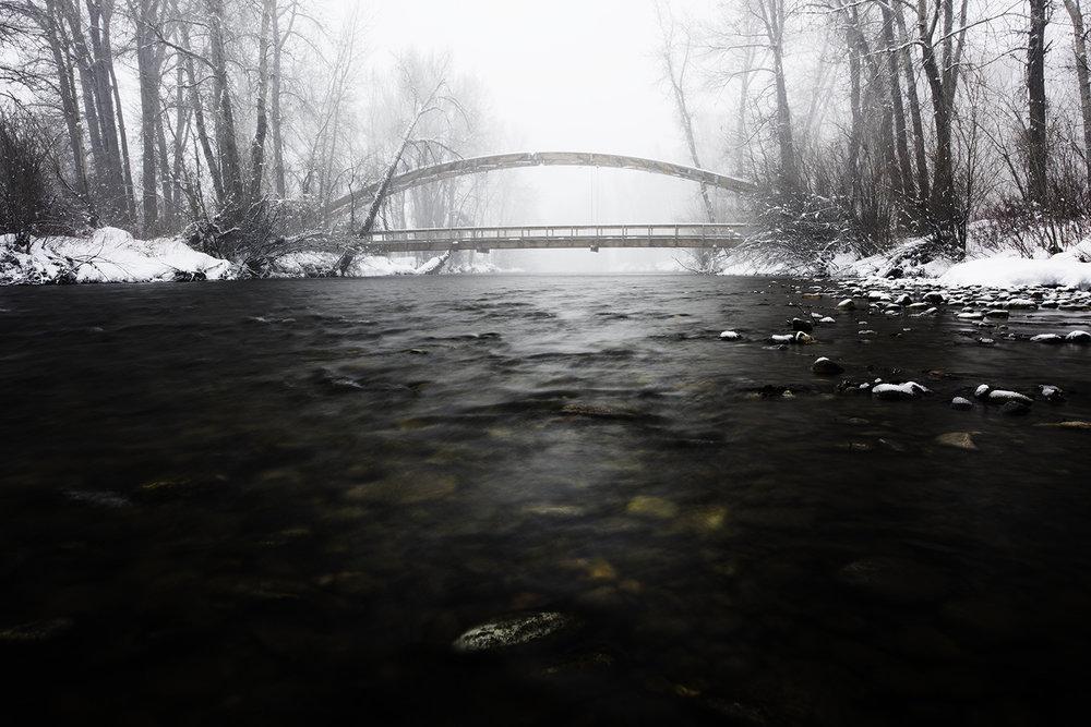 Big Wood River. February 2019