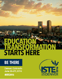 Connect, Collaborate and Share at ISTE 2016.Click for more info!