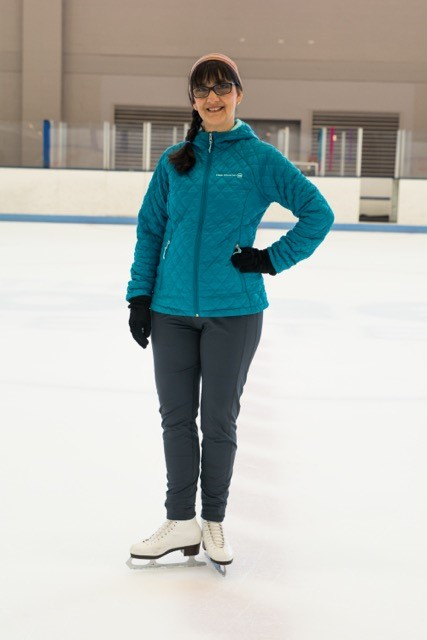 Cindy: The Jones Center is a one-stop shop for fitness for me and my family! We were thrilled to find The Jones Center ice rink, one of only two in Arkansas, so close to home! The skating coaches are so friendly and supportive no matter what level you skate at.  Where else but The Jones Center could my husband work out in the gym, our daughter take her figure skating lessons and I attend a yoga class … all under one roof at the same time?