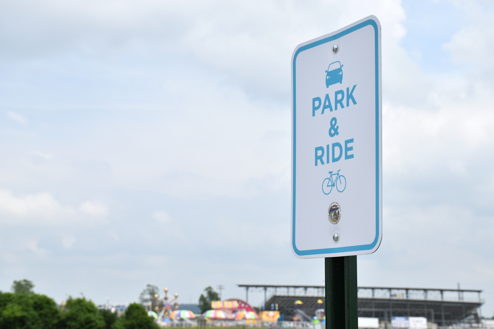 park and ride, springdale, razorback greenway, bike trails, nwa, northwest arkansas, park here