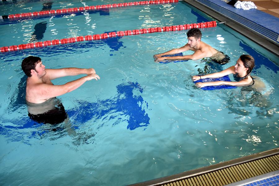 adult learn to swim, adult swimming, fitness classes, yoga, jones center, springdale, arkansas, northwest arkansas