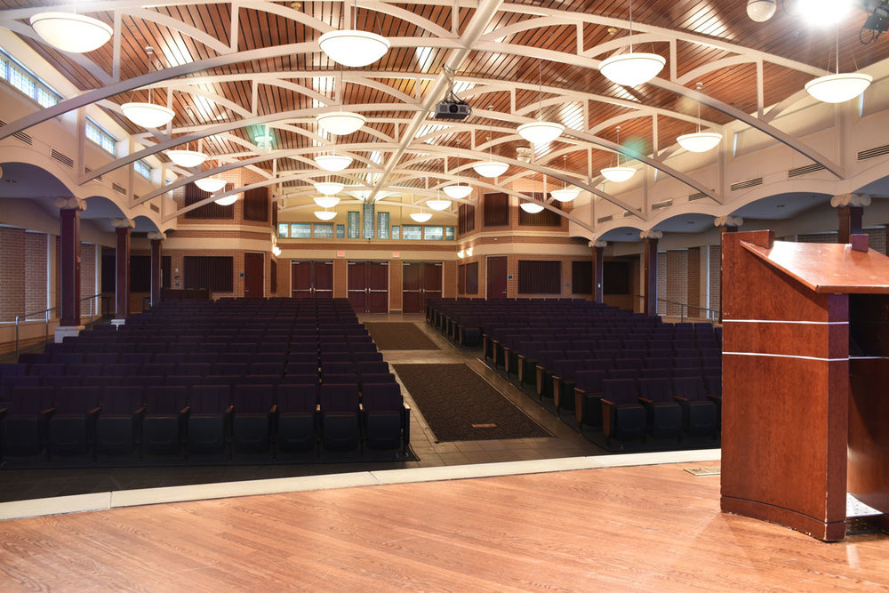 chapel auditorium at the jones center springdale arkansas