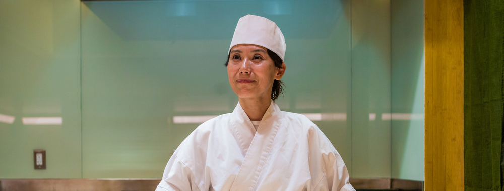 """""""Women are too temperamental"""" to be sushi chefs Women have been excluded from the world of sushi for a number of ludicrous reasons, including the temperature of their hands — but not this trailblazing chef, Nakaba Miyazaki."""