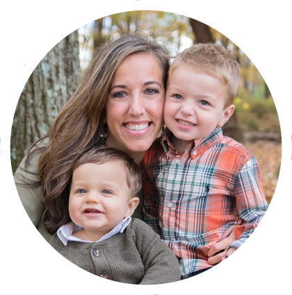 """Debora was wonderful.  We have a 3 year old and a 1 year old and she was able to capture amazing fall photos of them.  She picked a beautiful location and we were all very relaxed.  I could not be happier with the pictures.  The hardest part was narrowing them down!"" - Nicole L."