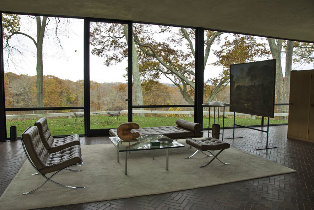 Philip Johnson's Glasshouse