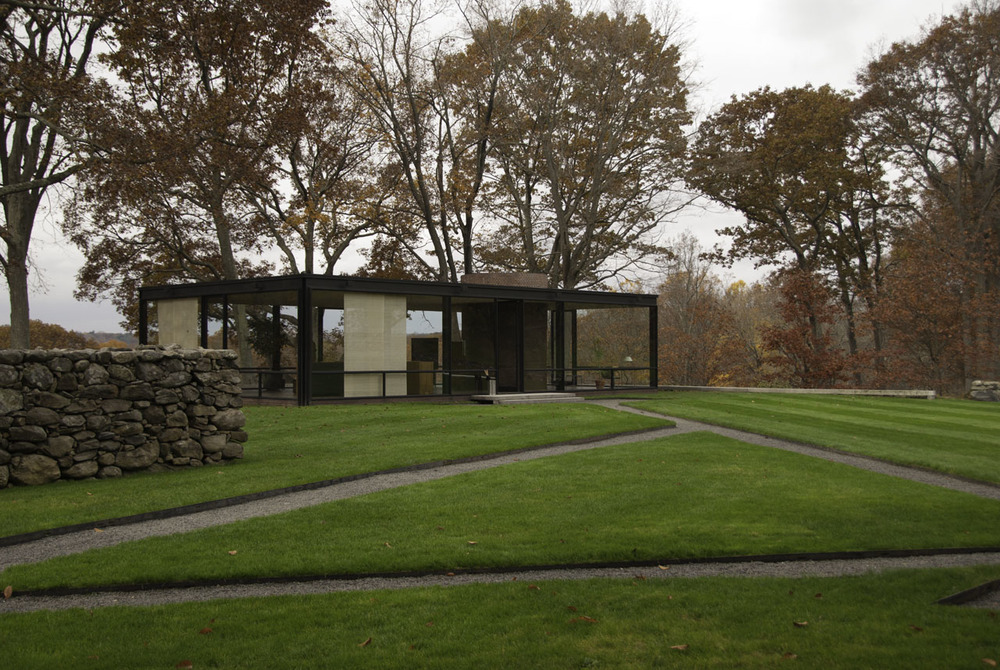 Architect Philip Johnson's Glasshouse