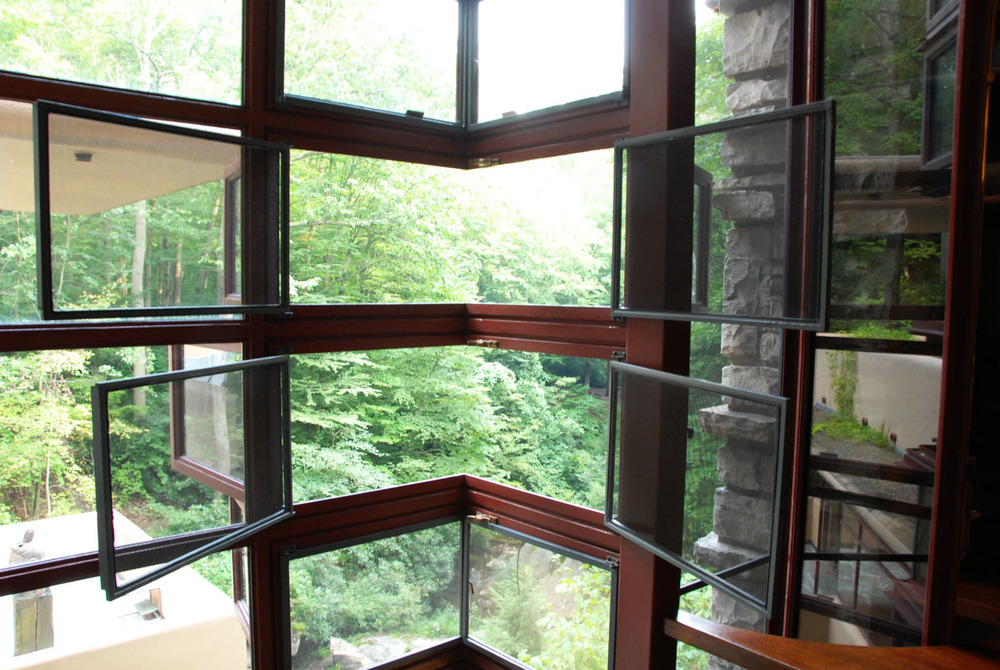 Inside a Fallingwater bedroom