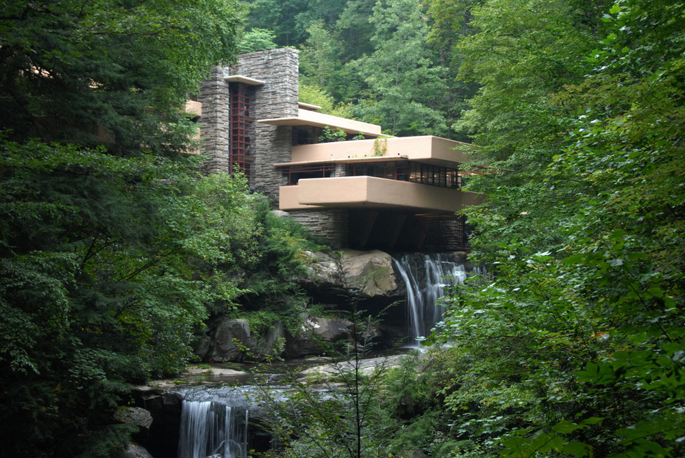 Architect Frank Lloyd Wright's Fallingwater