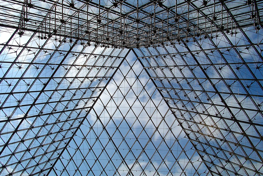 Louvre Museum by I. M. Pei