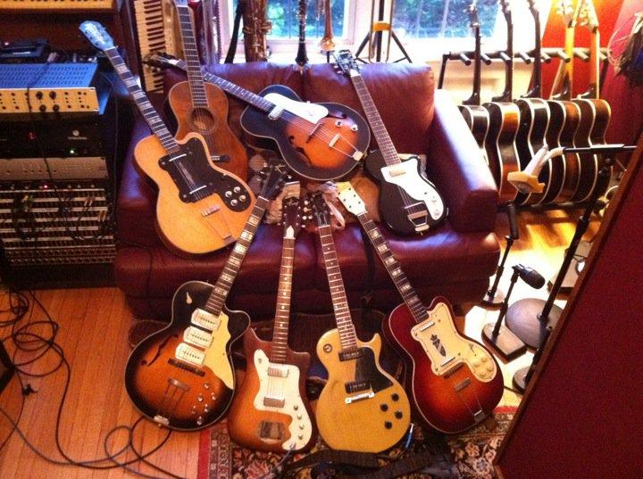 Michael Bram recording session