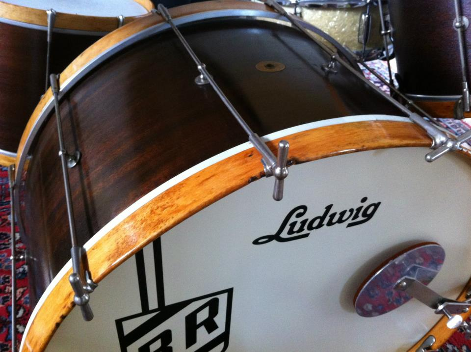 """1920's Ludwig 28"""" bass drum"""
