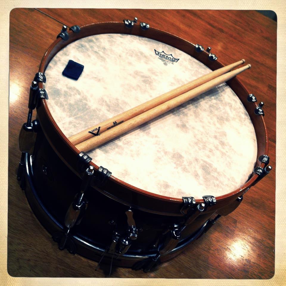 Wood hoop snare