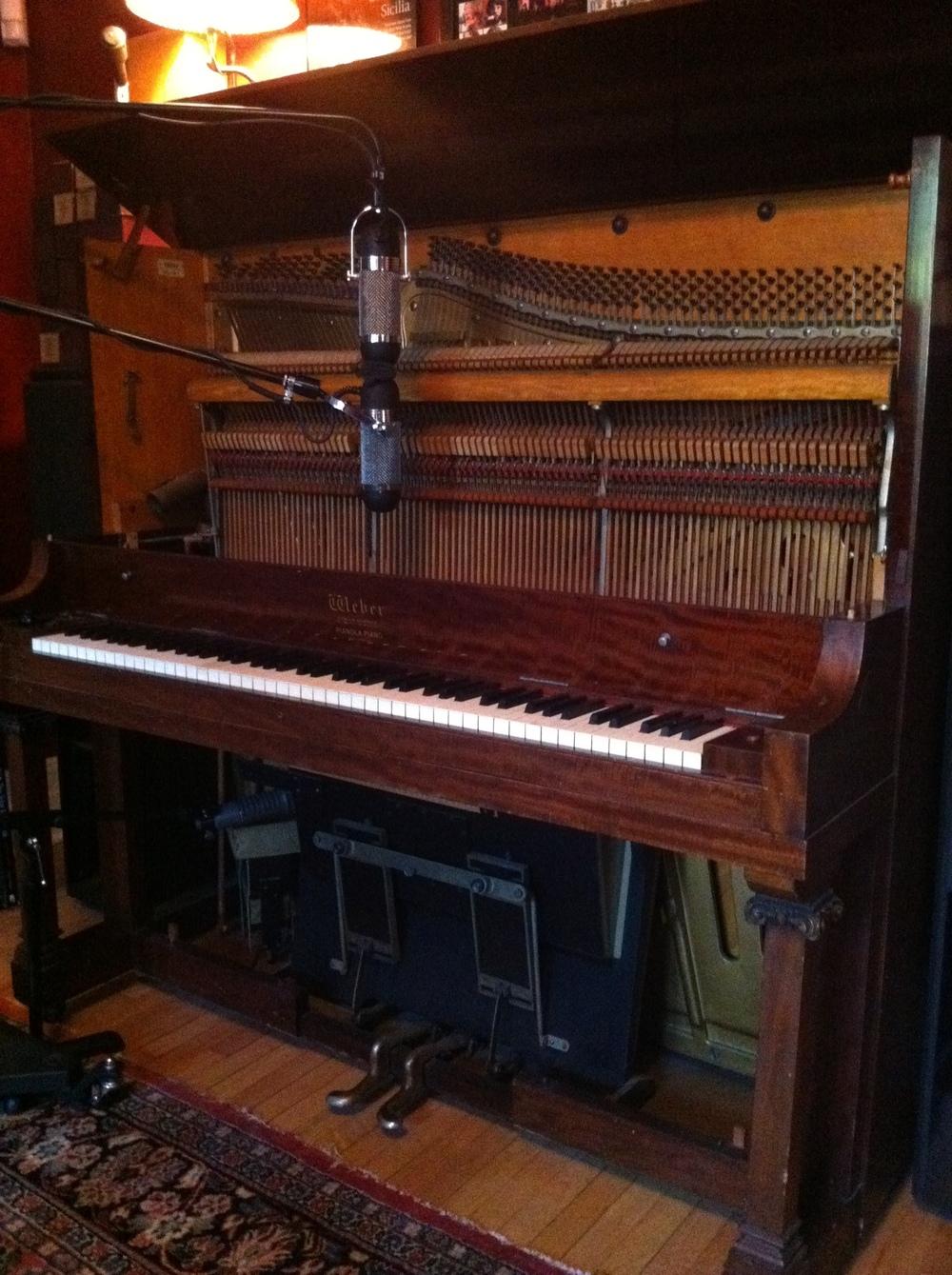 Piano overdubs