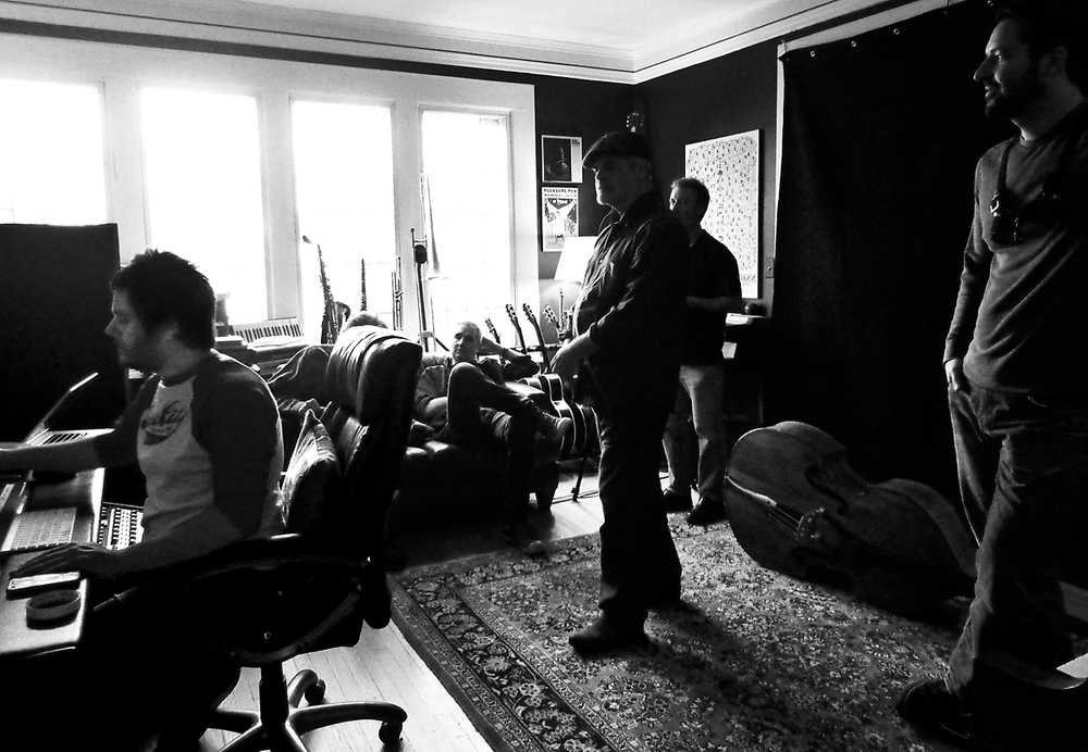 Brad Vickers album #4 tracking session