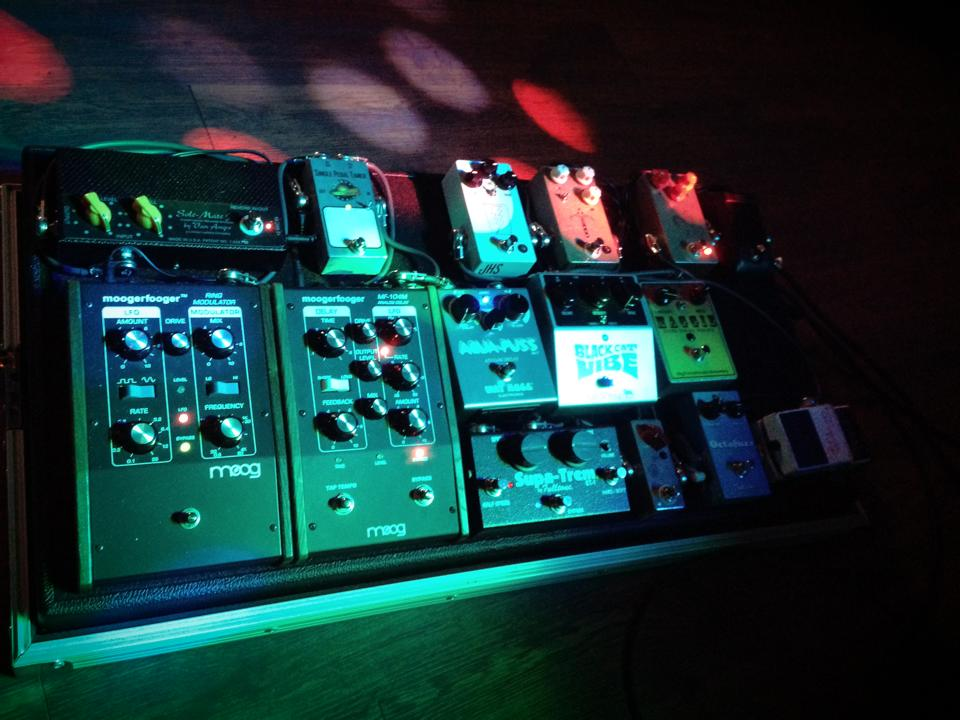 Lots and lots of pedals