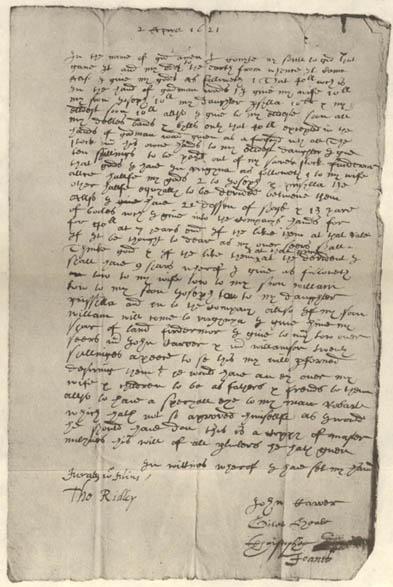 Probate Records Mayflowerhistory Com