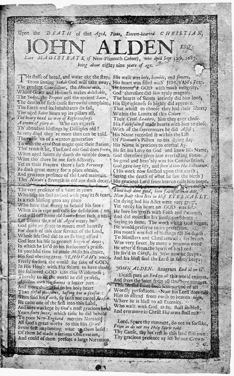 Alden Mayflowerhistory Com