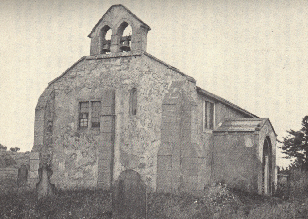 A 19th century photograph of St. Helen's, Austerfield, the church where William Bradford was baptized and the church of his early youth.
