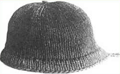 A 17th century Monmouth cap.