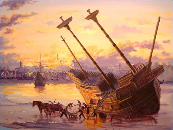"""Mayflower's End,"" by Mike Haywood."