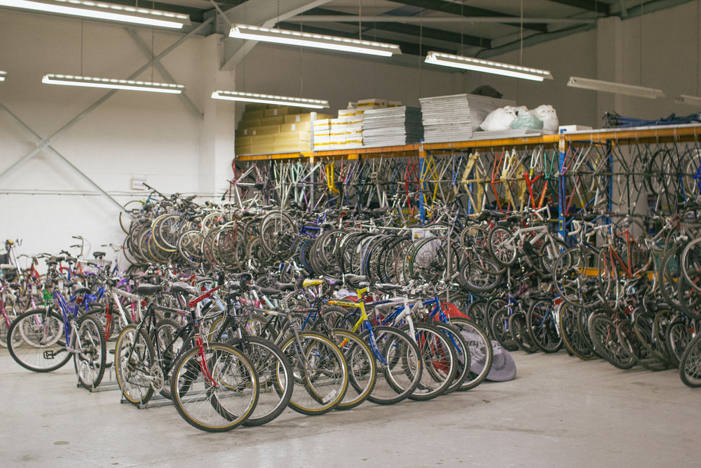 The Bikes4Africa Bike Shed