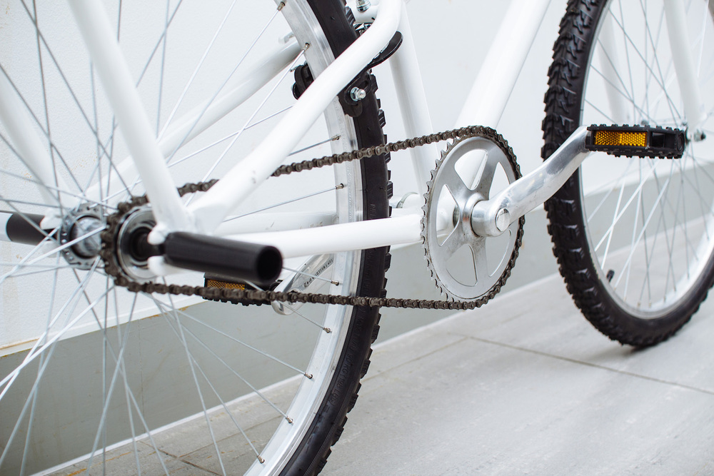 A single speed drive system makes maintenance simple