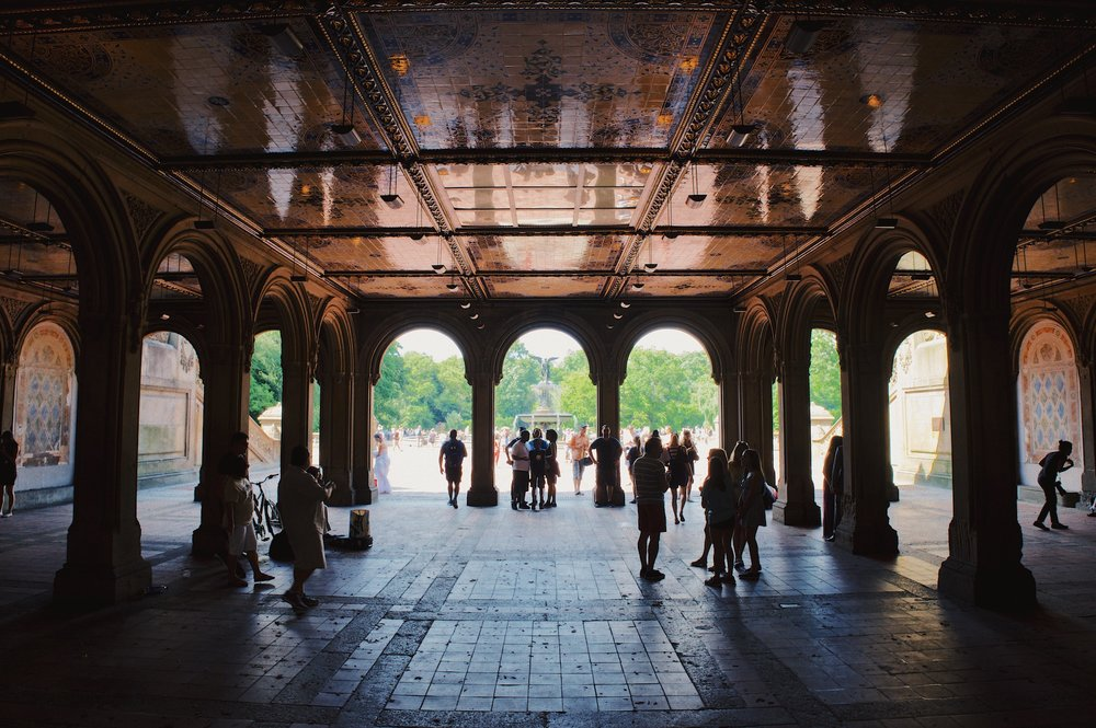 Bethesda Terrace - There's a few must see tourists spots dotted around the whole park including the Bethesda Terrace and Fountain. The whole area is rather busy but, with it being home to so many great scenes in films, it's well worth having a wonder around.