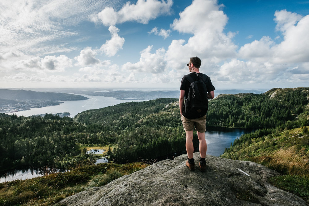 Fjellstrekninger - We spent an afternoon hiking around Fjellstrekninger seeing some absolutely stunning views over Bergen. This is only an hours hike from the town centre and is along well trodden paths, making it suitable for pretty much anyone.