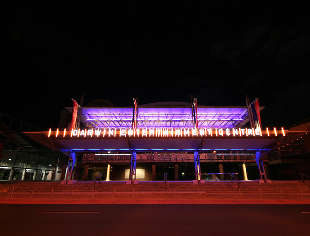Darwin Entertainment Centre Forecourt  - Darwin, NT, 2007